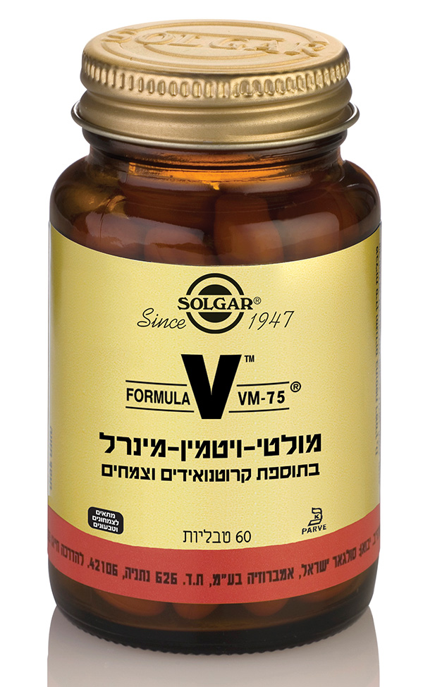 SOLGAR MULTIVITAMIN VM-75/60