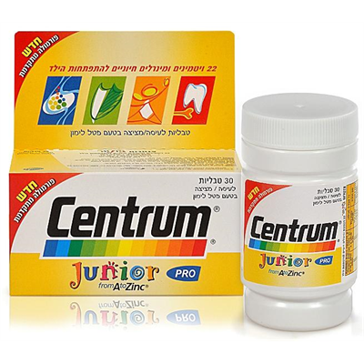 ‎   CENTRUM‎ ‎JUNIOR 30 TAB‎